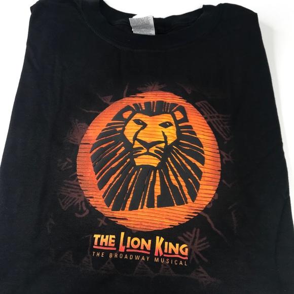 Lion king musical t shirt black XL San Francisco